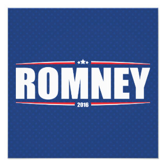Mitt Romney 2016 (Stars & Stripes - Blue) Photo