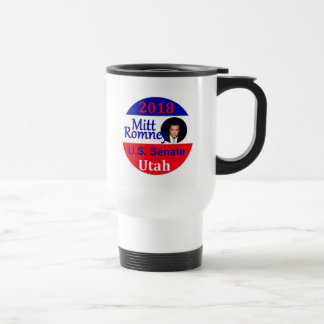Mitt ROMNEY 2018 Senate Travel Mug