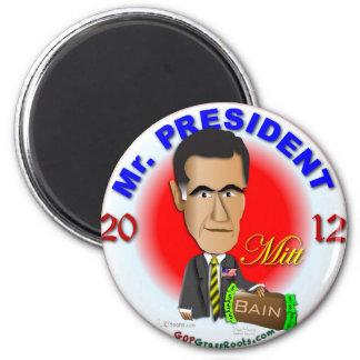 Mitt Romney 2 Inch Round Magnet