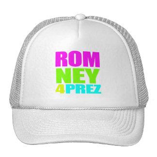 MITT ROMNEY 4 PREZ png Hat
