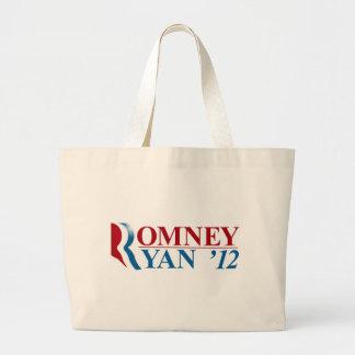 Mitt Romney and Paul Ryan 2012 Tote Bag