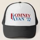 Mitt Romney and Paul Ryan 2012 Trucker Hat