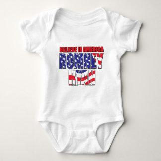 Mitt Romney and Paul Ryan Baby Bodysuit