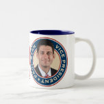 Mitt Romney and Paul Ryan Commemorative Mug