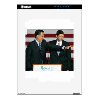 Mitt Romney and Paul Ryan iPad 2 Skins