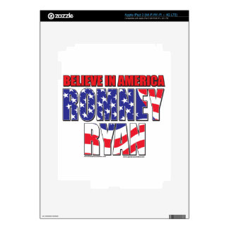 Mitt Romney and Paul Ryan iPad 3 Decal