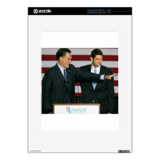 Mitt Romney and Paul Ryan Skins For The iPad