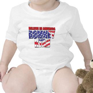 Mitt Romney and Paul Ryan Bodysuit