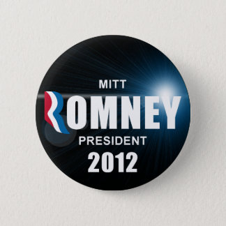 Mitt Romney - Anti Obama 2012 Button