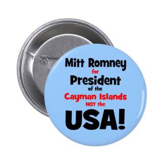 Mitt Romney anti Pin Redondo 5 Cm