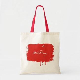 MITT ROMNEY AUTOGRAPH WHITE.png Budget Tote Bag