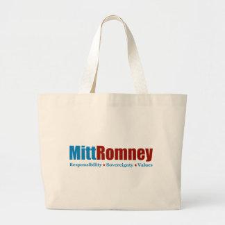 Mitt Romney Canvas Bag