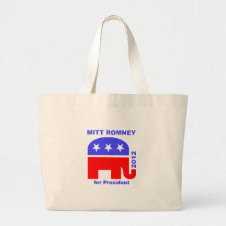 Mitt Romney Canvas Bags