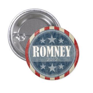Mitt Romney - barras y estrellas del vintage Pins