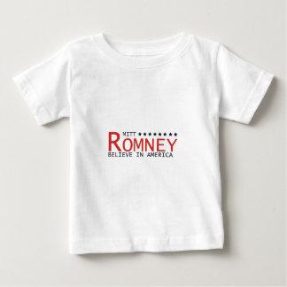 MITT-ROMNEY-BELIEVE BABY T-Shirt