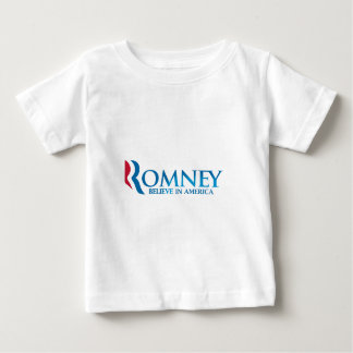 Mitt Romney Believe in America Apparel Baby T-Shirt