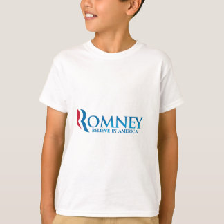 Mitt Romney Believe in America Apparel T-Shirt