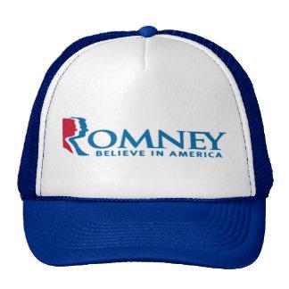 Mitt Romney Believe In America Hat