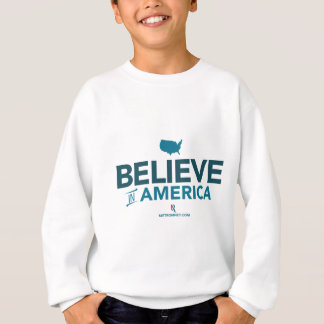 Mitt Romney Believe In America With USA 2012 Sweatshirt