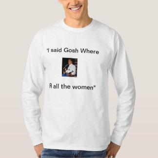 Mitt Romney Binder of women Tee Shirt