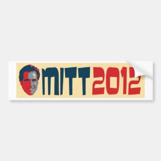 Mitt Romney Bumper Sticker 2012 Car Bumper Sticker