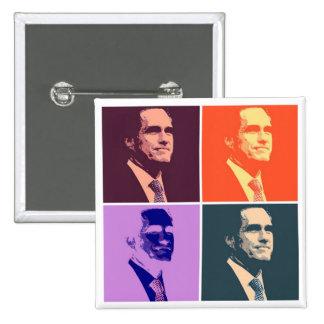Mitt Romney Buttons