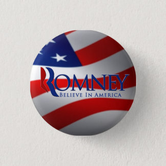 Mitt Romney Button Pin