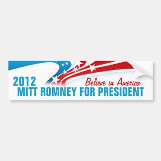 Mitt Romney Etiqueta De Parachoque
