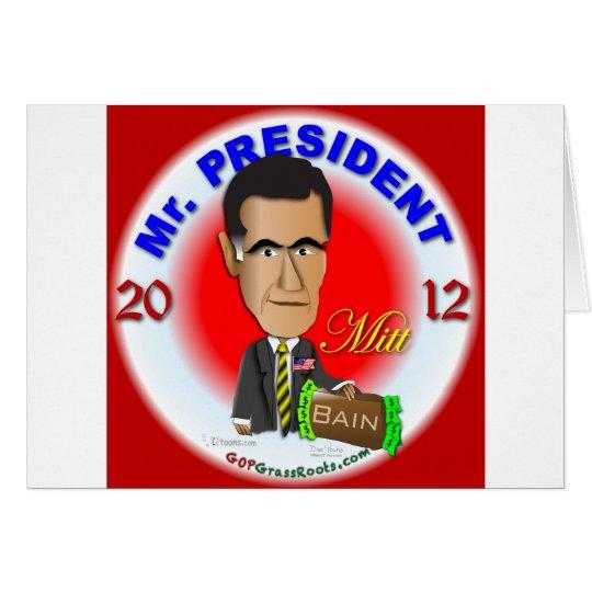 Mitt Romney Card