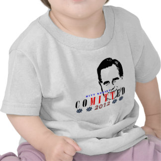 Mitt Romney Comitted 2012.png Shirts