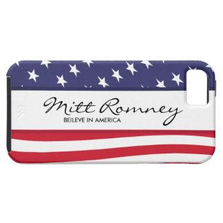 Mitt Romney cree en caso del iPhone 5 de América iPhone 5 Case-Mate Carcasa