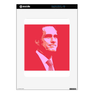 Mitt Romney Decal For The iPad
