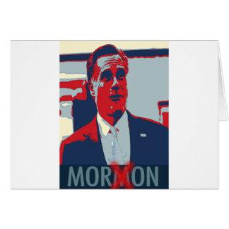 Mitt Romney el Imbécil mormón Tarjeta De Felicitación
