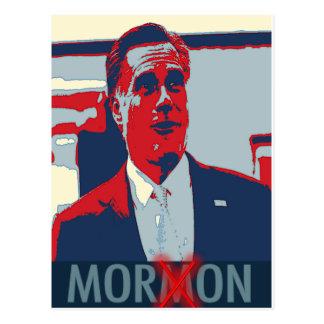 Mitt Romney el Imbécil mormón Tarjetas Postales