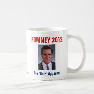 """Mitt Romney - el """"pelo"""" evidente Taza"""