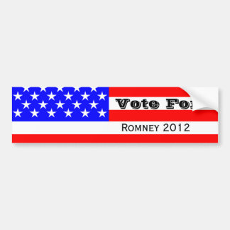 Mitt Romney Election Campaign Products Bumper Stickers