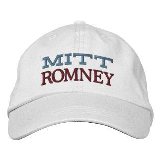 Mitt Romney Embroidered Hat
