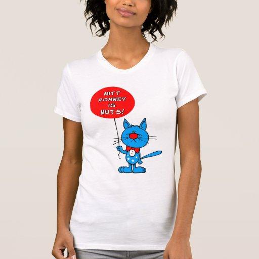 ¡Mitt Romney es nuts! Camisetas