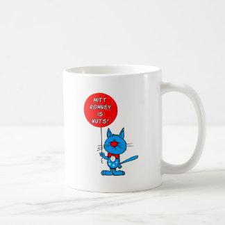 ¡Mitt Romney es nuts! Tazas De Café