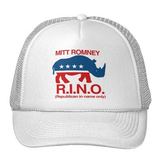 Mitt Romney es RINO.png Gorro De Camionero