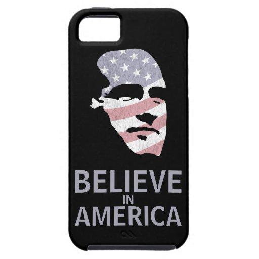 Mitt Romney Face Believe in America iPhone 5 Cases