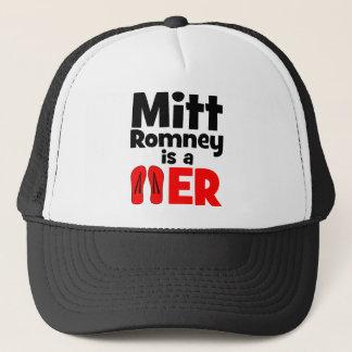 Mitt Romney flip flopper Trucker Hat