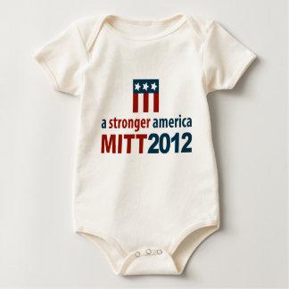 Mitt Romney for a Stronger America Baby Bodysuit