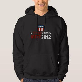 Mitt Romney for a Stronger America Dark Hoodie
