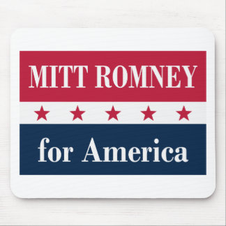 Mitt Romney for America Mouse Pad
