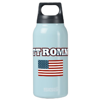 Mitt Romney for America 10 Oz Insulated SIGG Thermos Water Bottle