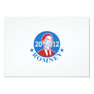 Mitt Romney For American President 2012 3.5x5 Paper Invitation Card