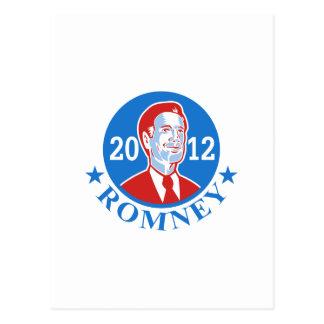 Mitt Romney For American President 2012 Postcard