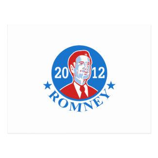 Mitt Romney For American President 2012 Post Cards