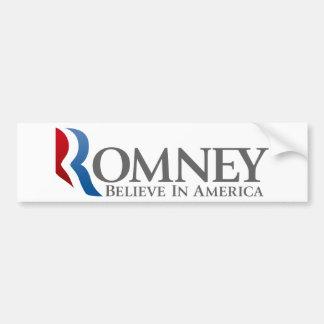 Mitt Romney for President 2012 Car Bumper Sticker